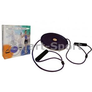 Диск здоровья с эспандерами массажный d25см PS FI-708 TWISTER