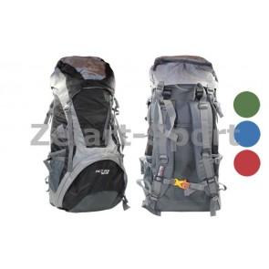 Рюкзак туристический V-50+10л каркасный (жесткий) GA-172 COLOR LIFE