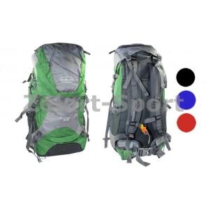 Рюкзак туристический V-50+10л каркасный (жесткий) GA-174 COLOR LIFE