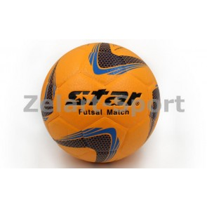 Мяч футзал №4 Клееный-PU STAR JMT03501