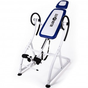 Инверсионный cтoл KlarFit Relax Zone Pro Inversion Table spinal Hang-Up White