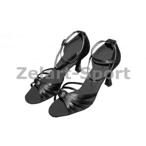 Обувь для танцев (латина женская) LD2041-BK