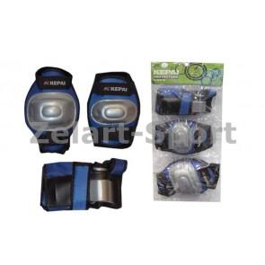 Защита спортивная наколенники, налокот., перчатки KEPAI LP-620