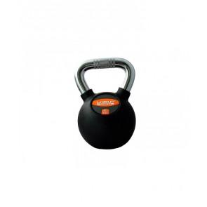 Гиря в резиновой оболочке RUBBER KETTEL DUMBELL 20 кг