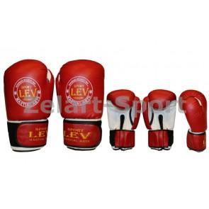 Перчатки боксерские Стрейч Лев LV-4281 КЛАСС