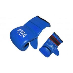 Снарядные перчатки (блинчики) Кожа VELO ULI-4003