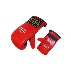 Снарядные перчатки (блинчики) Кожа VELO ULI-4005