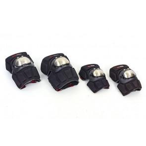 Комплект мотозащиты (колено + локоть) 4шт MADBIKE MS-4319