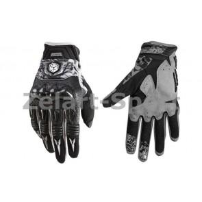 Мотоперчатки комбинированные SCOYCO MX49-BK