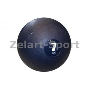 Мяч медицинский (слэмбол) SLAM BALL SBL001-7 7кг