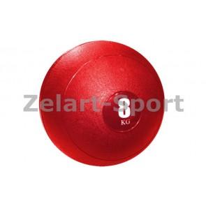 Мяч медицинский (слэмбол) SLAM BALL SBL001-8 8кг