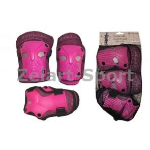 Защита спортивная наколенники, налокот., перчатки ZEL SK-3503P