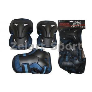 Защита спортивная наколенники, налокот., перчатки ZEL SK-3505B
