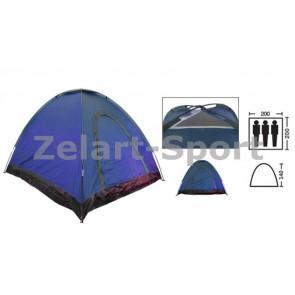 Палатка самораскладывающаяся 3-х местная SY-A-35-BL