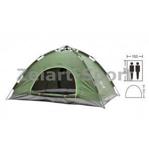Палатка-автомат с автоматическим каркасом 2-х местная SY-A02-O