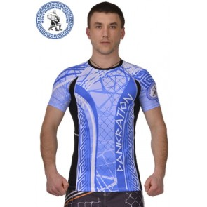 Рашгард  BERSERK for Pankration 3D APPROVED WPC blue