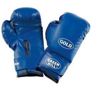 "Боксерские перчатки Green Hill ""GOLD"""