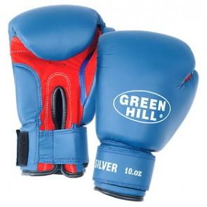 """Боксерские перчатки Green Hill """"SILVER"""""""