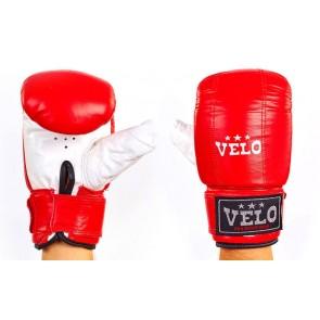 Снарядные перчатки (блинчики) Кожа VELO ULI-4001