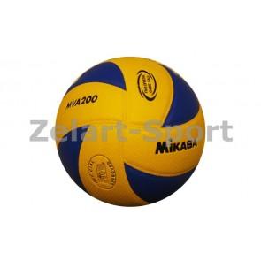 Волейбольный мяч. Клееный MIK VB-1843 MVA-200