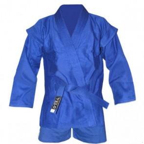 Кимоно для самбо синее (самбовка+шорты) VELO VL-8127