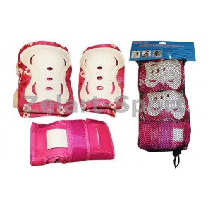 Защита спортивная наколенники, налокот., перчатки ZEL Z-7096K