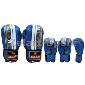 Перчатки боксерские PU ZEL ZB-4275