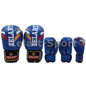 Перчатки боксерские PU ZEL ZB-4276