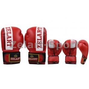 Перчатки боксерские PU ZEL ZB-4277