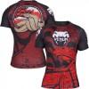 Рашгард Venum Crimson Viper Rashguard Short Sleeves Black Red