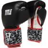 Снарядные перчатки TITLE Boxing Safari Leopard Fitness Gloves