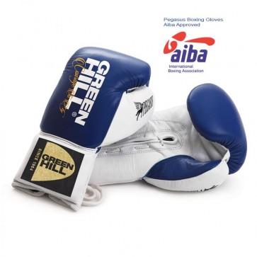 Перчатки боксерские Pegasus Green Hill AIBA