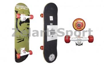 Скейтборд в сборе (роликовая доска) RADIUS RAD-410A