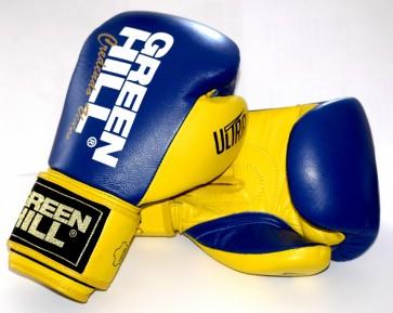 Перчатки боксерские Green Hill Ultra