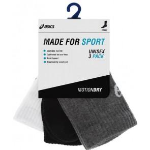 Спортивные носки ASICS 3PPK CREW SOCK 128064-0701