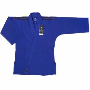 Детское кимоно для дзюдо Adidas Club  J350 (чёрные погоны)