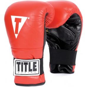 Боксерские перчатки для работы на снарядах Title Boxing Pro