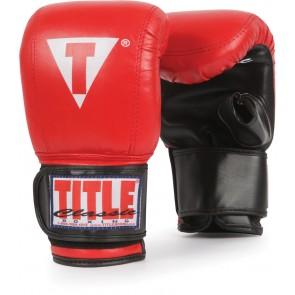 Снарядные боксерские перчатки TITLE Classic Aero
