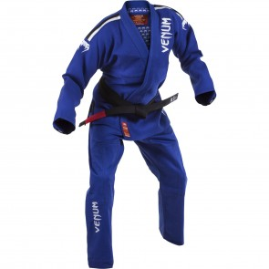 Кимоно для джиу-джитсу Venum BJJ GI Absolute Gold Weave - Blue