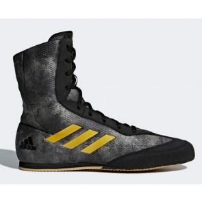 Боксерки Adidas BOXHOG2 (серо-желтые) DA9897