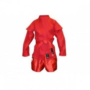Кимоно для самбо красное MA-3209