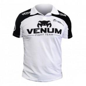 Футболка Venum Lyoto Machida Polo Black-White