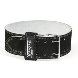 Пояс кожаный для пауэрлифтинга SCHIEK Competition Power Belt Double Prong L6010