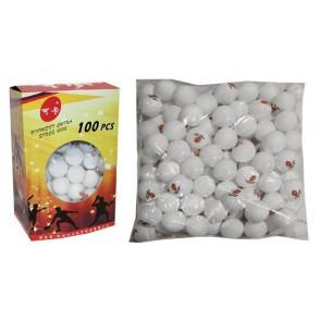 Шарики для настольного тенниса в цвет.картон.коробке (100шт) PRO-513