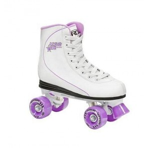 Женские ролики RD  ROLLER STAR  600 women milk/lila