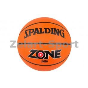 Мяч баскетбольный резиновый №7 SPLD 73923Z ZONE BRICK