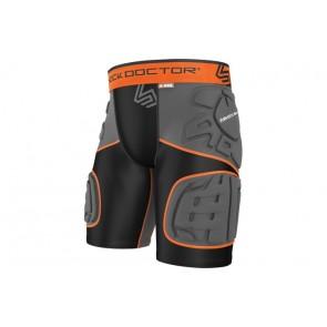 Защитные шорты с протекторами Shock Doctor ULTRA SHOCKSKIN 5-PAD