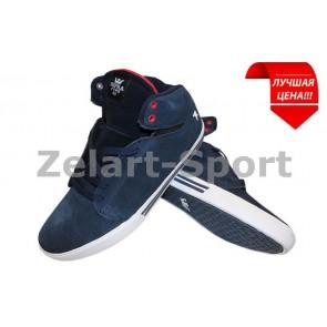Кроссовки высокие Кожа SUPRA 9835-BLR