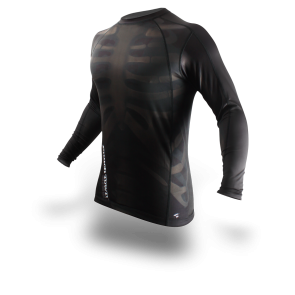 Рашгард PunchTown Fracture Rash Guard Long Sleeve