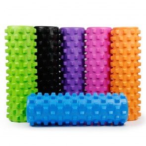 Роллер массажный (Grid Roller) для йоги, пилатеса, фитн. FI-4942